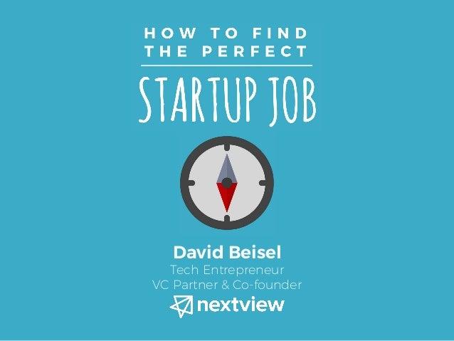 David Beisel Tech Entrepreneur VC Partner & Co-founder