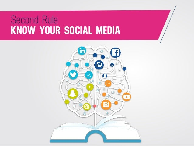 KNOW YOUR SOCIAL MEDIA Second Rule