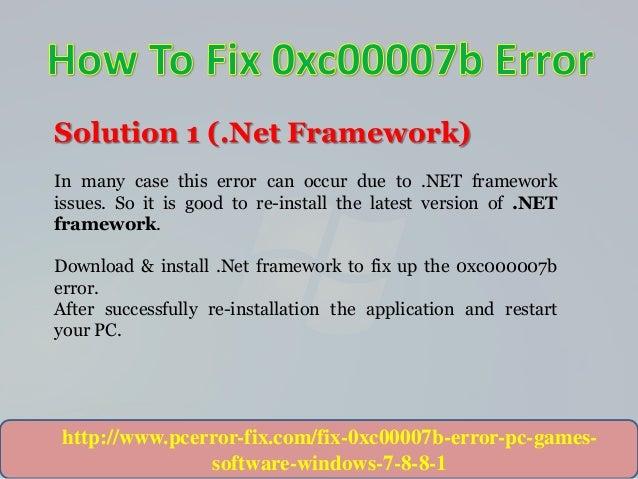 Fix error program