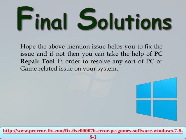 How to fix 0xc00007b error (All PC Games & Software) on