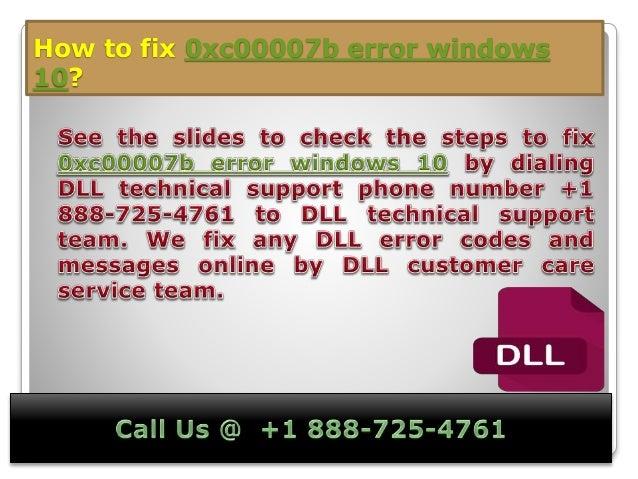 0xc00007b error windows 10