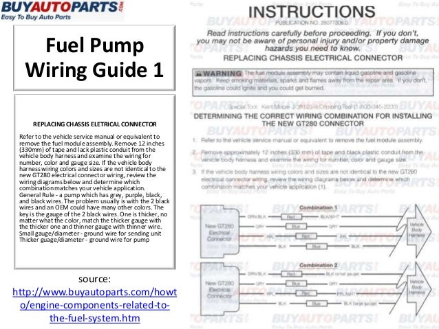 How to fix a fuel pump fuel pump wiring keyboard keysfo Images