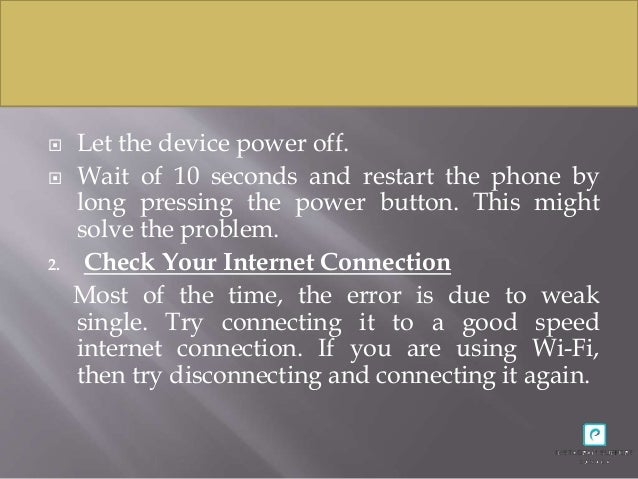 How to Fix an Error Unknown Network Error has occurred in