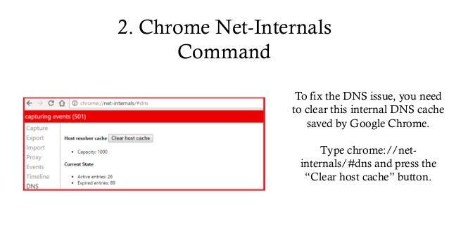 hrome://net-internals