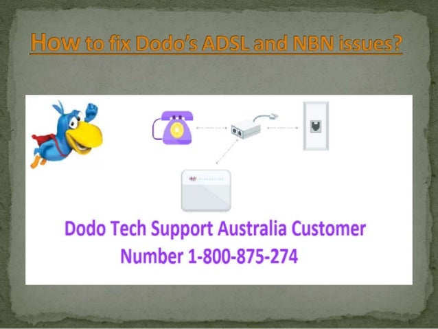 How to fix dodo's adsl and nbn issues