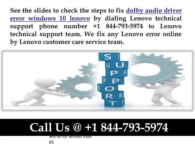 How to fix dolby audio driver error windows 10 lenovo call us @ +1 84…