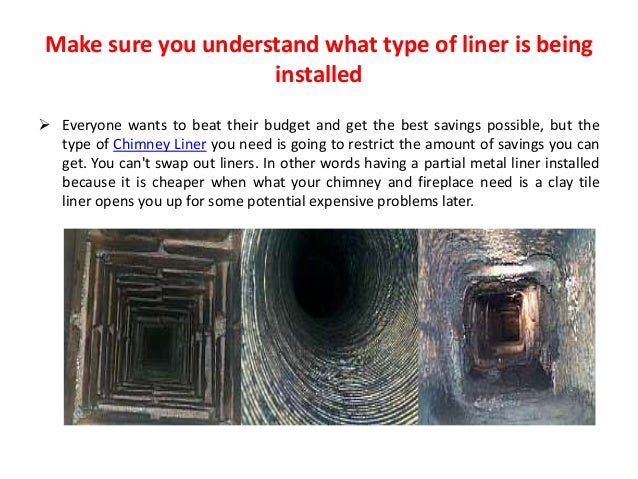 How To Fixed Chimney Liner Installation