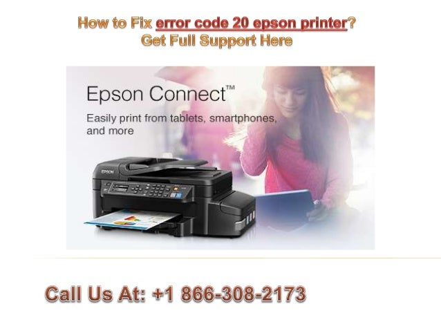 How to fix error code 20 epson printer call @ +1 866 308-2173