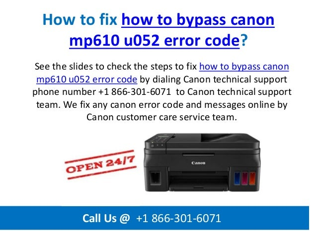 PIXMA Printer Error Codes And Error Messages