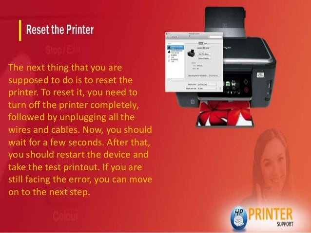 How to fix hp printer missing printhead error code