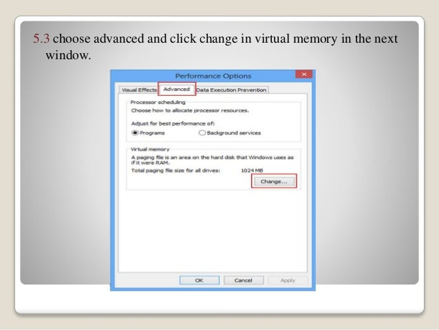 how do i free up virtual memory on my laptop