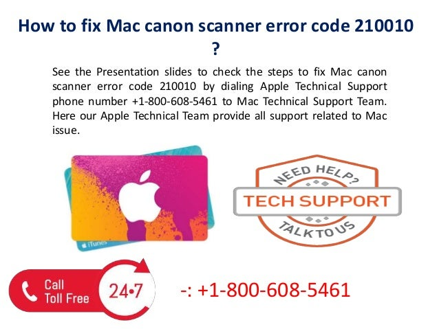 How to fix mac canon scanner error code 210010 call us @+1 800-608-54…