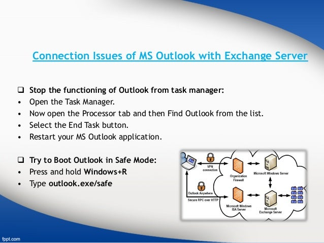 How To Fix Outlook Server Not Available Error?