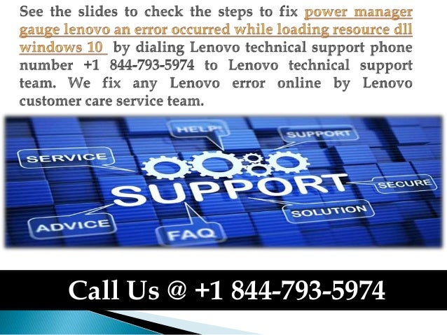 How to fix power manager gauge lenovo an error occurred while loading…
