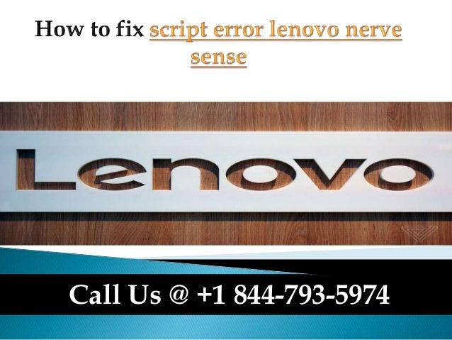 Install Lenovo Nerve Sense