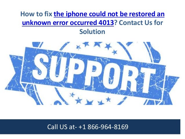 iphone could not be restored unknown error 1