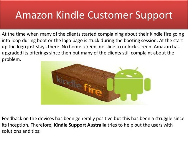 How To Fix The Issue Of Kindle Fire Stuck On Logo?
