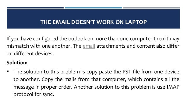 how to fix pop3 problems with outlook