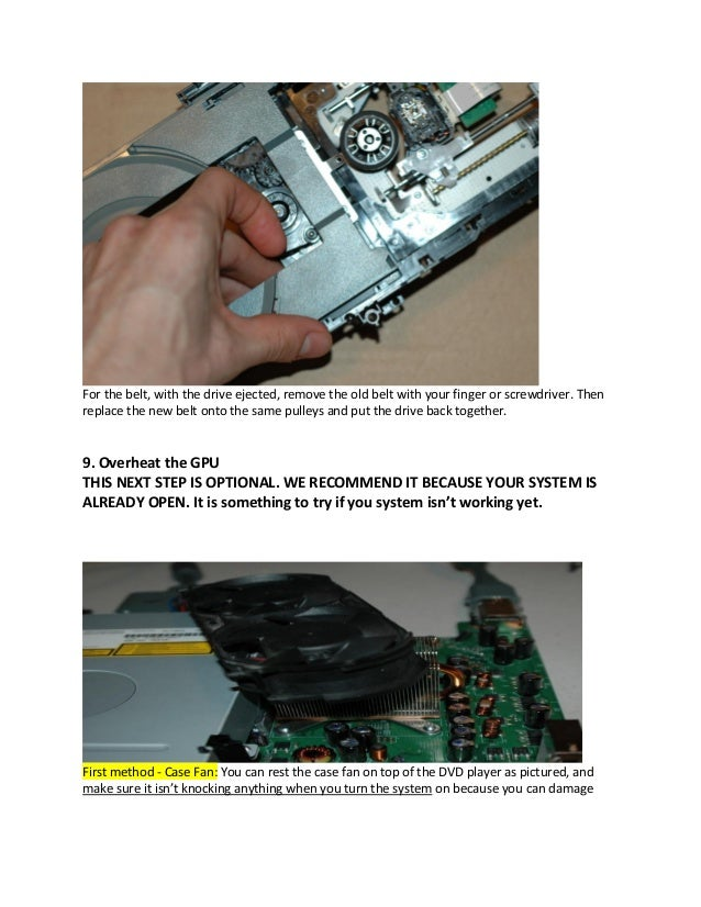 How To Fix The Ring Of Death On A Cd
