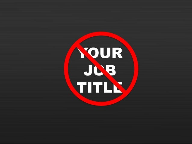 YOUR JOB TITLE