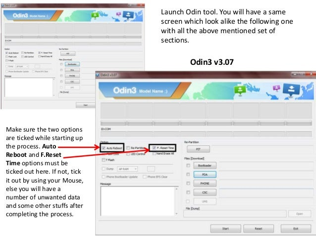 How to flash All Samsung Devices with odin3