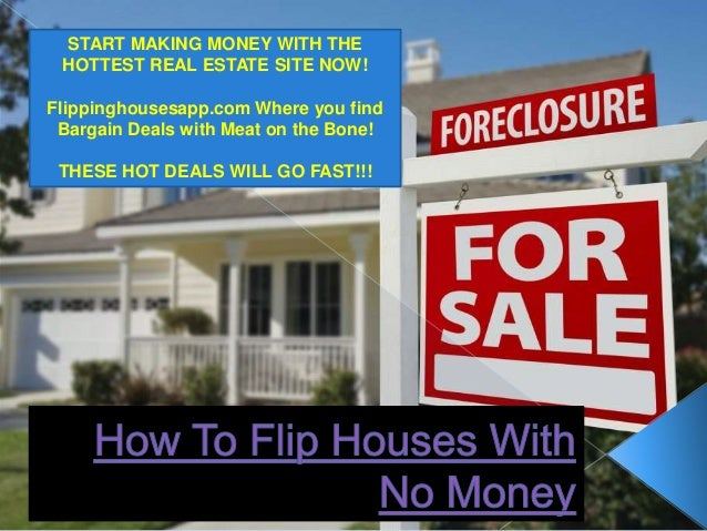 How To Flip Homes With No Money 28 Images Houses Owner Financing A