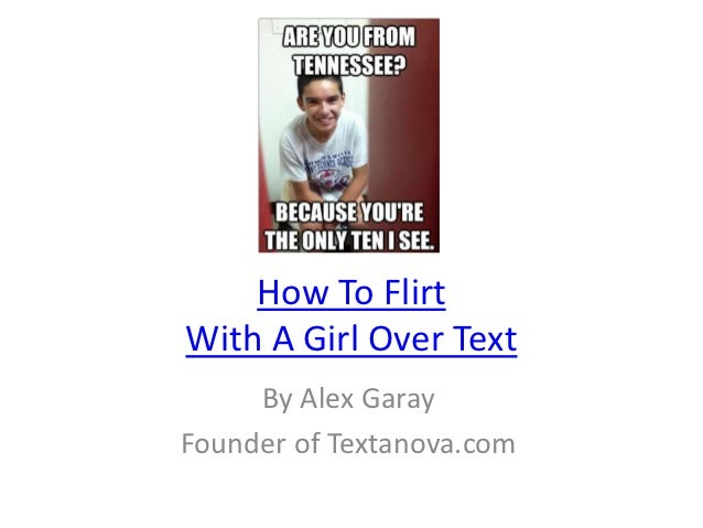 how to flirt with a man through email