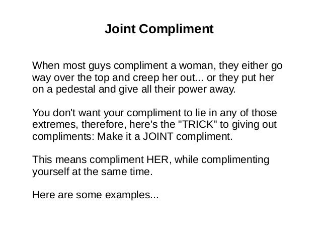 Text A To Compliments Through Give Girl