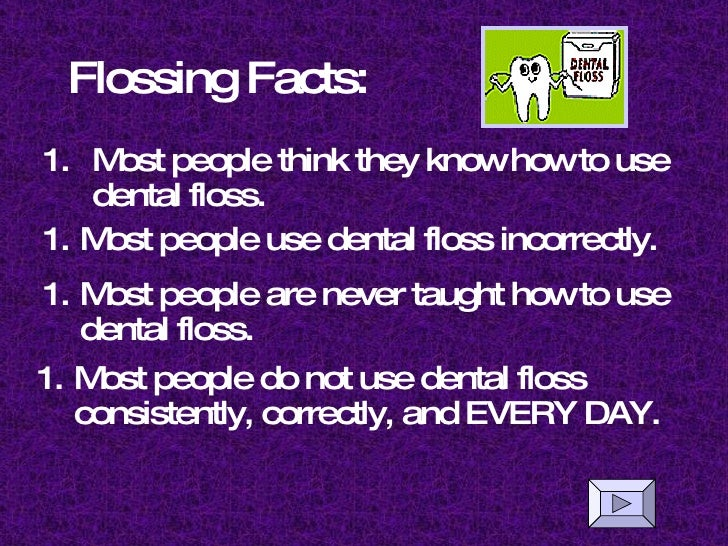 How To Use Dental Floss 2 Flossing
