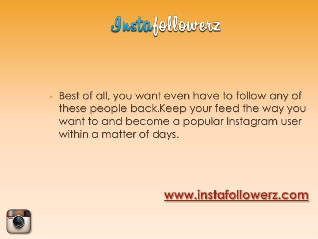 How one can Make Your Product Stand Out With 25 Free Followers Instagram