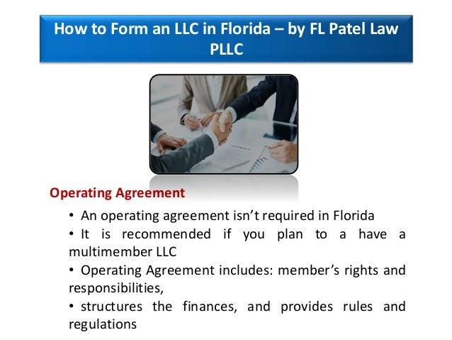 How To Form An Llc In Florida By Fl Patel Law Pllc Florida Busine