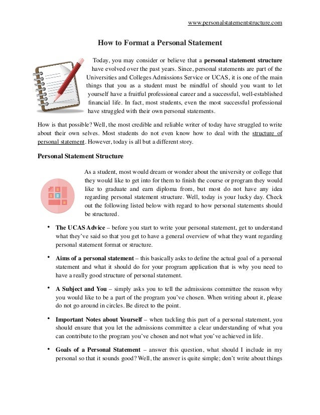 How to write a medical personal statement