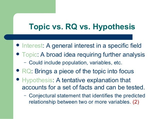 thesis vs research question You may be used to working with a thesis statement, but a thesis statement is an  answer  a good research question is specific and focused.