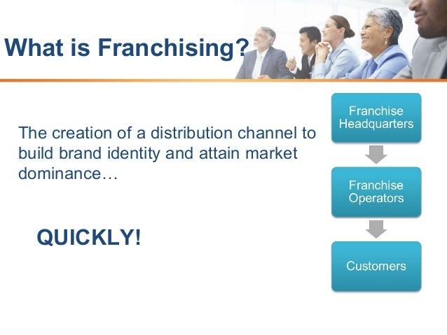An overview of business franchising