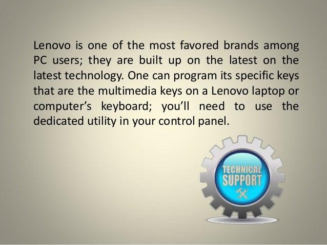 How to function the lenovo keyboard multimedia keys