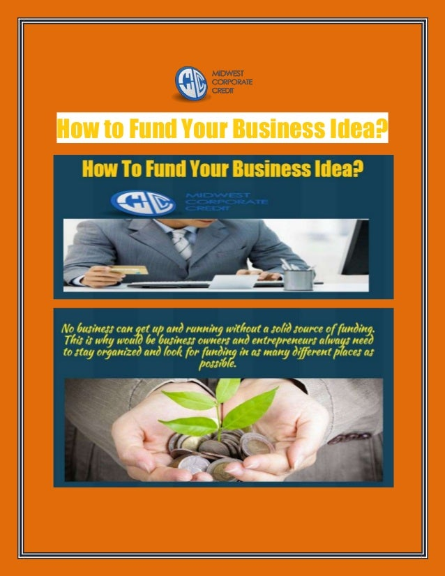 How to Fund Your Business Idea?