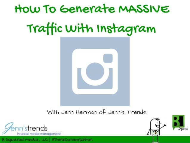 I'm  Learning     How  to  Generate     Massive  Traffic     With  Instagram   #InstagramWebinar  ...
