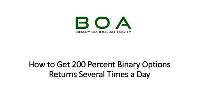 Binary options new york times