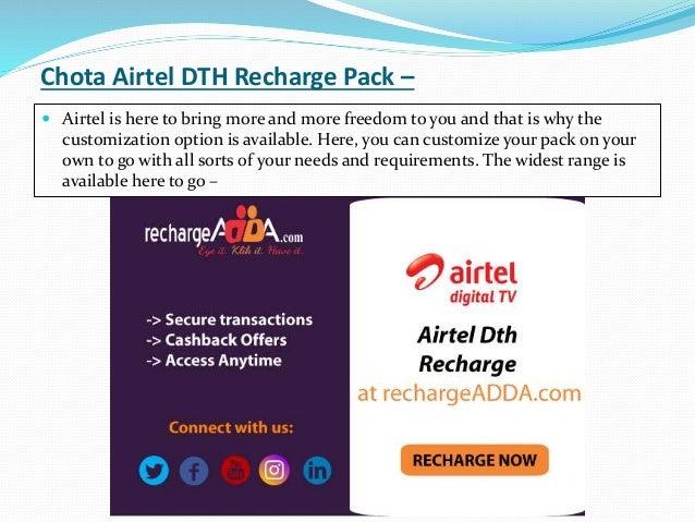 Airtel dth best deals