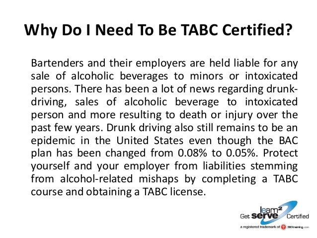 How To Get An Alcohol Seller or Server Certification in Texas