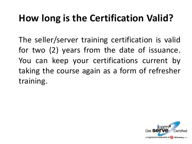 how to get smart serve certification