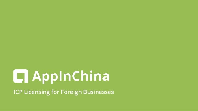 ICP Licensing for Foreign Businesses
