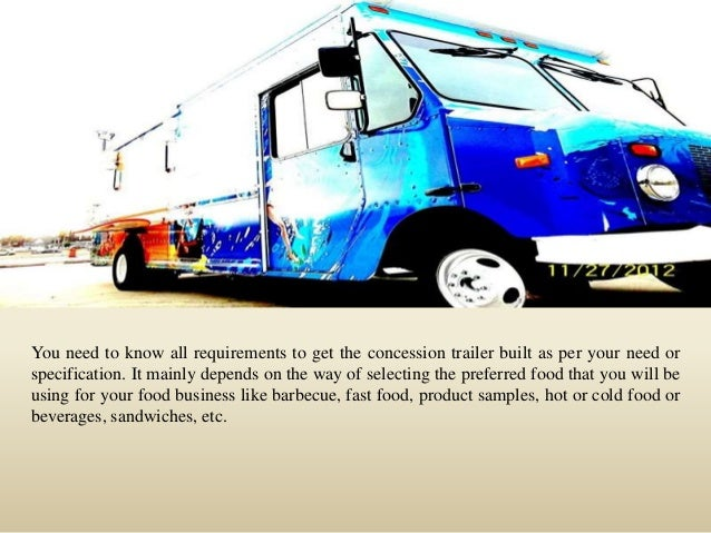 How to get an outstanding custom concession trailer Slide 2