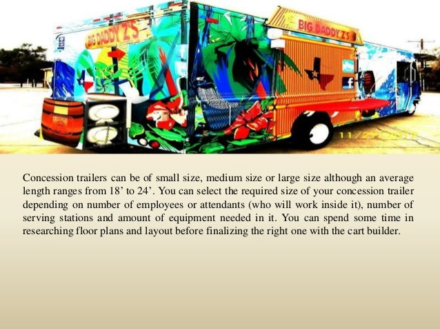 How to get an outstanding custom concession trailer Slide 3