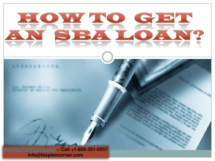 how to get a loan to start a small business