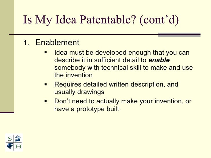 how to get a patent application