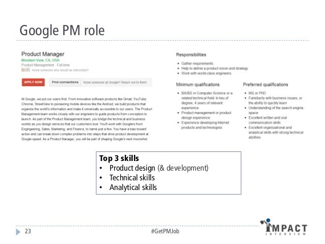 Winning The Interview 22 #GetPMJob; 23.  Product Manager Resumes