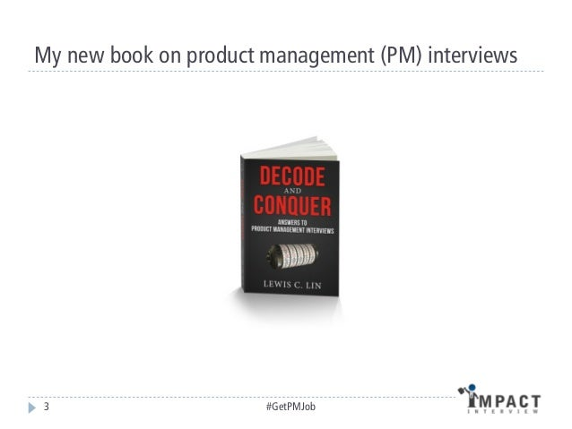 How to Get a Product Manager Job Slide 3