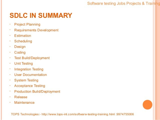 how to get a software testing job