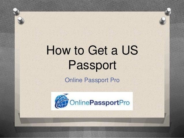 How to Get a US Passport Online Passport Pro